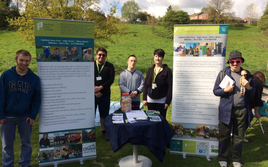 Students attend 'Spring in the park' fete