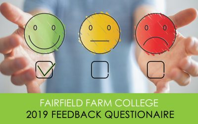 Student, carer & resident feedback at Fairfield Farm College