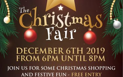 Join us for our Christmas Fair on December 6th 2019!
