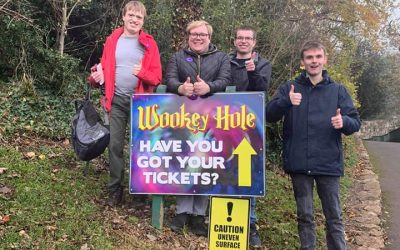 Residential students plan visit to Wookey Hole Caves